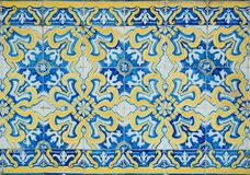 Vintage Tiles From Sintra Royalty Free Stock Photos