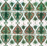 Vintage Tiles Stock Photography