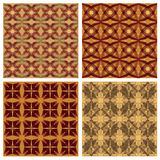 Vintage tiles set Stock Photos