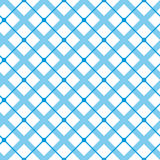 Vintage tiling seamless pattern with simple geometric shapes. Retro background made of color line tripes and check. Royalty Free Stock Photography