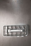 Vintage tin ice cube tray Royalty Free Stock Photo