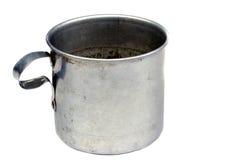 Vintage Tin Mug Royalty Free Stock Photography