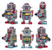 Vintage Tin Robot Toy Royalty Free Stock Image