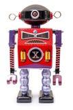 Vintage Tin Robot Toy Stock Images