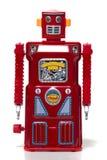 Vintage tin robot toy royalty free stock photography