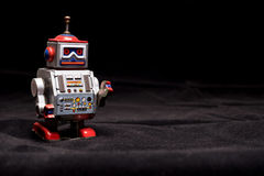 Vintage tin toy robot Stock Image
