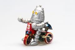 Vintage tin toy robot Stock Photos