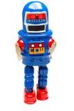 Vintage tin toy robot Stock Images