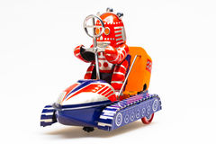 Vintage tin toy robot Royalty Free Stock Photography