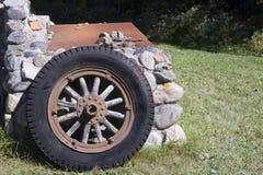 Vintage Tire Royalty Free Stock Photo