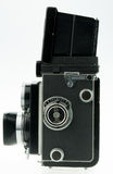 Vintage tlr camera Stock Image