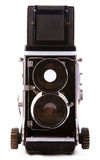 Vintage TLR camera Royalty Free Stock Photo