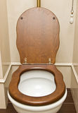 Vintage toilet Royalty Free Stock Images