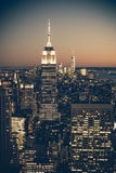 Vintage Tone NYC Royalty Free Stock Photo