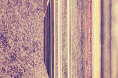 Vintage toned abstract blurred stripped background Stock Photos