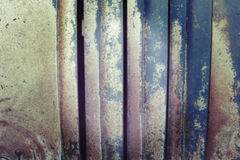 Vintage toned blurred abstract rusty metal background Royalty Free Stock Photo