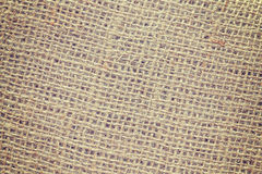 Vintage toned high quality close up picture of jute fabric. Stock Photos