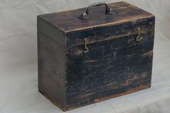 Vintage Toolbox stock image