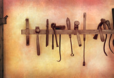 Vintage Tools Royalty Free Stock Photos
