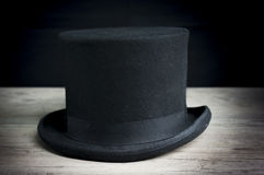 Vintage top hat Stock Images