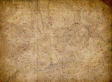 Vintage Topographical Map Background