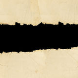 Vintage torn paper Royalty Free Stock Images
