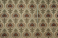 Vintage torn wallpaper Royalty Free Stock Image