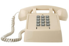 Vintage touch tone telephone Stock Photos