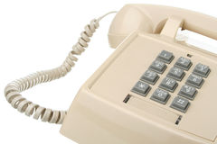 Vintage touch tone telephone Royalty Free Stock Photo