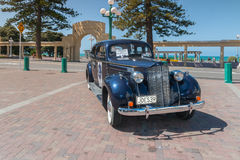 Vintage Touring Car Napier New Zealand Stock Image