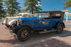 Vintage Touring Cars Napier New Zealand Royalty Free Stock Photography