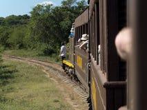 Vintage touristic train. Stock Images