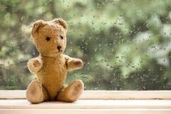 Vintage toy bear Stock Photo