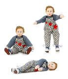 Vintage Toy Boy doll Royalty Free Stock Photography