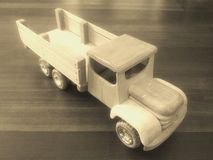 Old wooden truck stock images