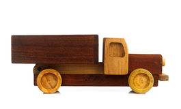 Vintage Toy Car Isolated. Royalty Free Stock Images