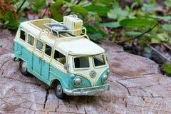 Vintage toy car. Stock Image