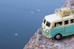 Vintage toy car. Royalty Free Stock Photo