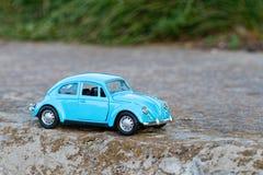 Vintage toy car. Royalty Free Stock Image