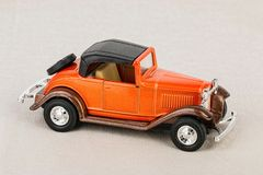 Vintage toy car. Stock Photography