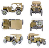 Vintage toy cars Stock Image