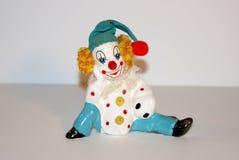Vintage toy clown figures Royalty Free Stock Photo