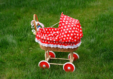 Vintage toy doll buggy Stock Image