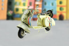 Vintage Toy Motorcycle Stock Photos