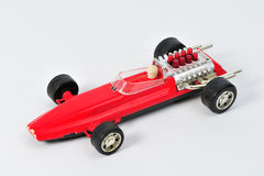 Vintage Toy Race Car Images stock