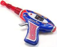 Vintage toy space gun royalty free stock photo