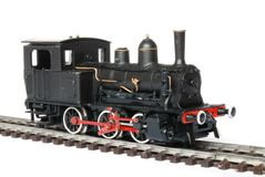 Vintage toy train Stock Image