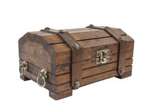 Vintage Toy Treasure Chest Fotografia de Stock Royalty Free