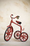 Vintage toy tricycle Royalty Free Stock Image