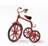Vintage toy tricycle Stock Photo